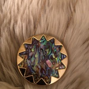 House of Harlow 1960 multicolor pendant necklace